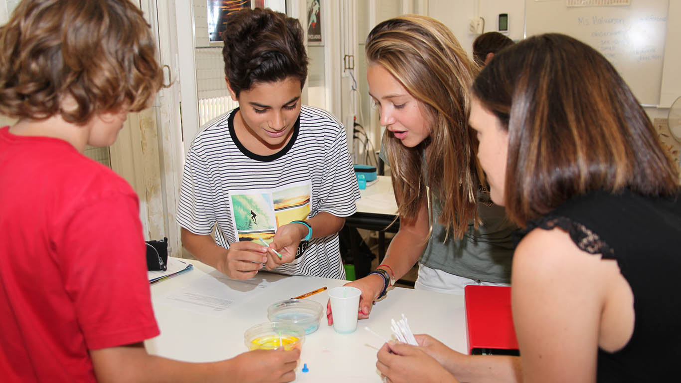 Middle and High School Best International American School Barcelona