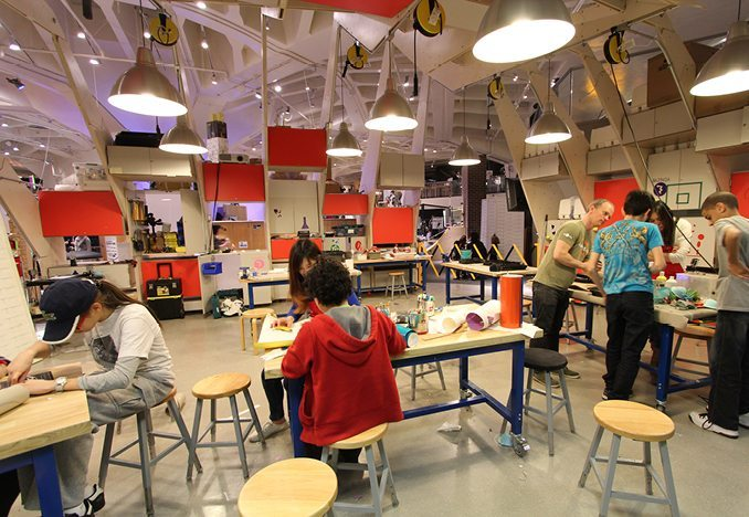 Maker Space image- BFIS_ International American School in Barcelona Spain